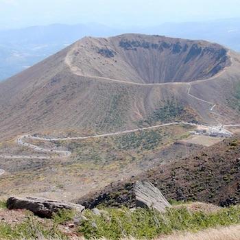 吾妻山噴火